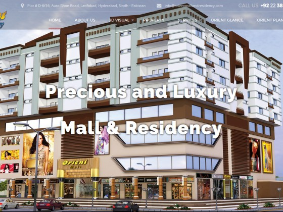 Orient Mall and Residency